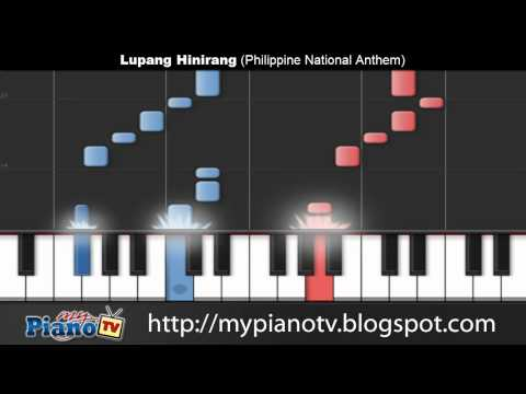 Lupang Hinirang (Philippine National Anthem) Piano Version