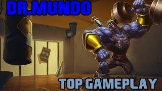 getlinkyoutube.com-League of Legends: DR.MUNDO TOP GAMEPLAY [Pré-Season 6 | PT/BR]