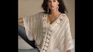 getlinkyoutube.com-crochet easy shrug or blouse free Pattern
