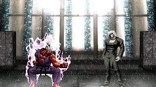 getlinkyoutube.com-[KOF Mugen] Shin Gouki vs Element (신 고우키 vs 엘리멘트)