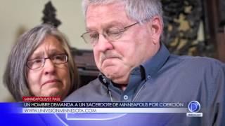 Un hombre demanda a un sacerdote de Minneapolis por coerción