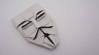 getlinkyoutube.com-Origami Guy Fawkes Mask (Brian Chan)