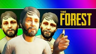 getlinkyoutube.com-The Forest - Survival of the Idiots! (Funny Moments / Co-op Gameplay)