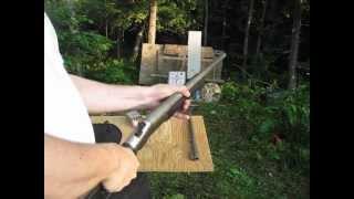 getlinkyoutube.com-Collapsible Shotgun 410 / 45 colt / 12 Ga. NEF Survivor Tamer