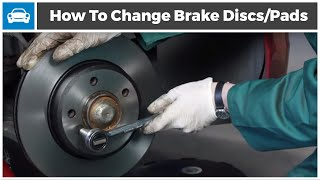getlinkyoutube.com-How to change your Brake Discs and Brake Pads from MicksGarage.com