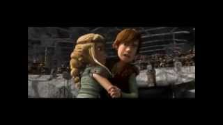 getlinkyoutube.com-Astrid and Hiccup - Give me love - (by: TheCamilapia)