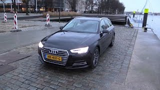 getlinkyoutube.com-Audi A4 Avant 2017 - Start Up, Drive, In Depth Review Interior Exterior