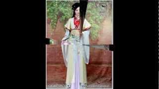 getlinkyoutube.com-Asian girls in National Costumes/Traditional Dress(Chinese;Japanese;Korean)