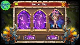 Update ➤ Gameplay + Gem Roll for Heroes Helden ಠ Castle Clash Schloss Konflikt [Deutsch] RaeshCor