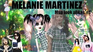 getlinkyoutube.com-Melanie martinez - MSP LOOK ALIKES #1