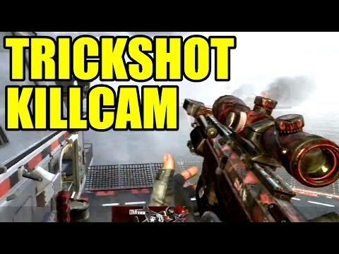 Trickshot Killcam # 818 | Black Ops 2 VS MW2 | Freestyle Replay