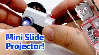 getlinkyoutube.com-2013 INSTAGRAM PROJECTOR Working Miniature by Projecteo