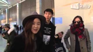 getlinkyoutube.com-151204 T-ARA(티아라) Going To China Nanjing @ Incheon Airport