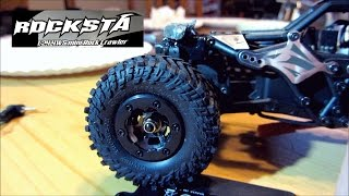 Rocksta | Update |  found a 450mAh batt | M/T Baja Claw tires mounted, etc..