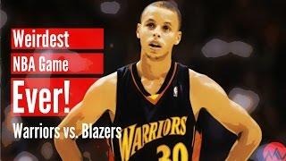 getlinkyoutube.com-The Weirdest NBA Game Ever! (Warriors vs. Blazers)