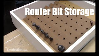 getlinkyoutube.com-Router Bit Storage