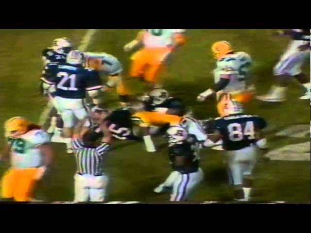Oregon WR Terry Obee 18 yard catch vs. Arizona 11-12-1988