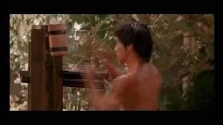 getlinkyoutube.com-Bruce Lee Wooden Dummy - Esercizi all'Uomo di Legno