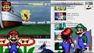 getlinkyoutube.com-Mugen: Malleo & Weegee vs Omega Weegee