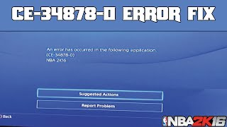 getlinkyoutube.com-NBA 2K16 | CE-34878-0 ERROR FIX | EXTREMELY EASY!