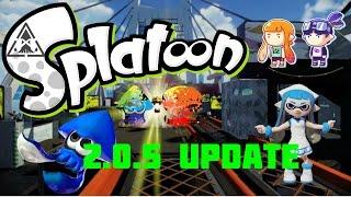 getlinkyoutube.com-Splatoon - 2.5.0 Update : Map Changes and Modes!!!