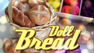 getlinkyoutube.com-How to Make Doll Food: Bread | Plus Our Doll Farmer's Market