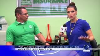 Luis Mendoza, de Estrella Insurance, nos habla de valiosas opciones de seguros