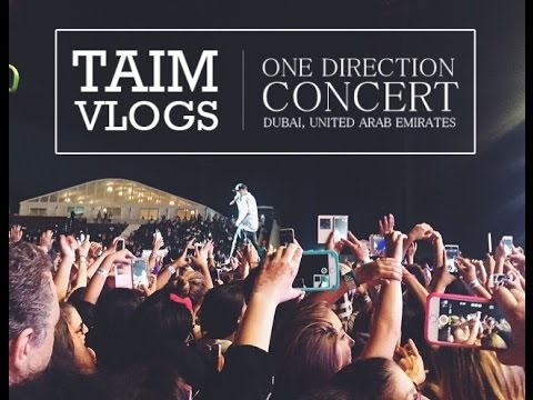 ONE DIRECTION CONCERT IN DUBAI! | حفلة ون دي في دبي