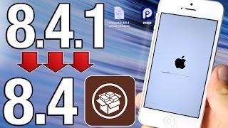 getlinkyoutube.com-How To Downgrade iOS 8.4.1 to iOS 8.4 & Jailbreak Untethered