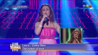 getlinkyoutube.com-Laura Esquivel como Celine Dion - Tu Cara Me Suena (Gala 14)