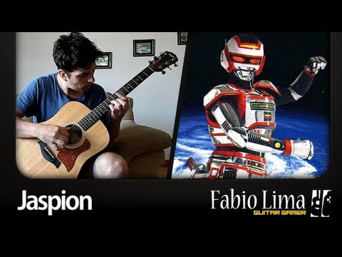 Jaspion Opening Theme on Acoustic Guitar by GuitarGamer (Fabio Lima)