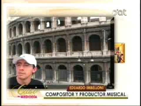 ANETTE ASBUN EDUARDO IMBELLONI PARTE 1 26 9 2012 CASI AL MEDIODIA