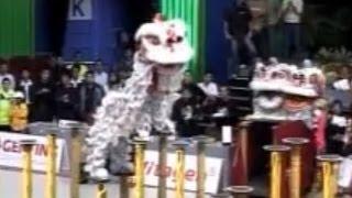 getlinkyoutube.com-Part 1 - KSK Lion Dance World Champion 关圣宫世界狮王 關聖宮世界獅王