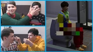 getlinkyoutube.com-Dan and Phil Play: Sims 4 - Best Moments (#1-10)