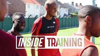 Inside-Training-Energy-sapping-bleep-tests-Keita-Fabinho-Milner width=