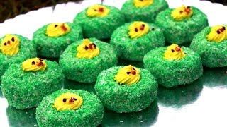 Uskršnja gnezda od čajnih kolutića - Sitni dekorativni kolači - Easter cake