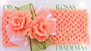 Rosas a crochet  -  how to crochet roses