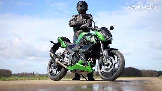 getlinkyoutube.com-Essai Kawasaki Z300
