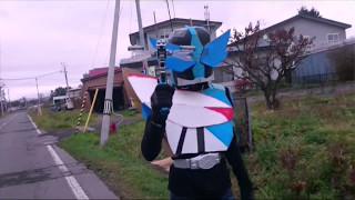 getlinkyoutube.com-マイナーな仮面ライダーの格好でお散歩してみた!ドレイク編part1