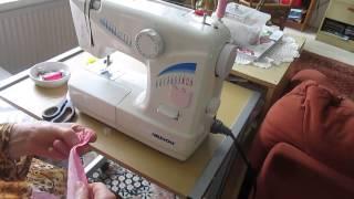 عمل السحاب (السوستة ) المخفي (ترجمة عربية ) , Sewing invisible zipper, English translated