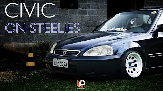 getlinkyoutube.com-Civic '99 on Steelies | Less is More | LP Produções
