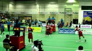 getlinkyoutube.com-Sepaktakraw Prince cup at Bangkok  (U-20 Regu Event)