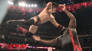 Neville vs. Mark Henry: Raw, November 23, 2015