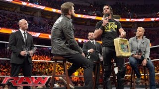 getlinkyoutube.com-Seth Rollins forces John Cena to reinstate The Authority: Raw, December 29, 2014