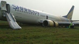 getlinkyoutube.com-Boeing 737 Crash Landing