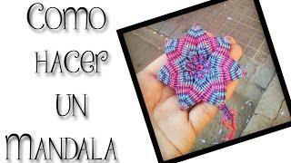 getlinkyoutube.com-ESPECIAL DE NAVIDAD: Como hacer un Mandala, para regalar o vender