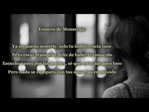 C de Esmero De Monserga Letra y Video
