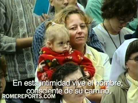 Juan Pablo II explica qu es la santidad