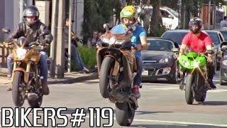 getlinkyoutube.com-BIKERS #119 - Superbikes Wheelies, Burnouts & RL's on the streets!