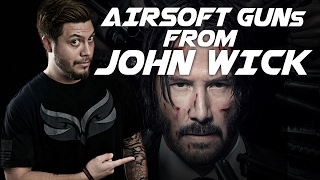 4 Airsoft Guns from John Wick!